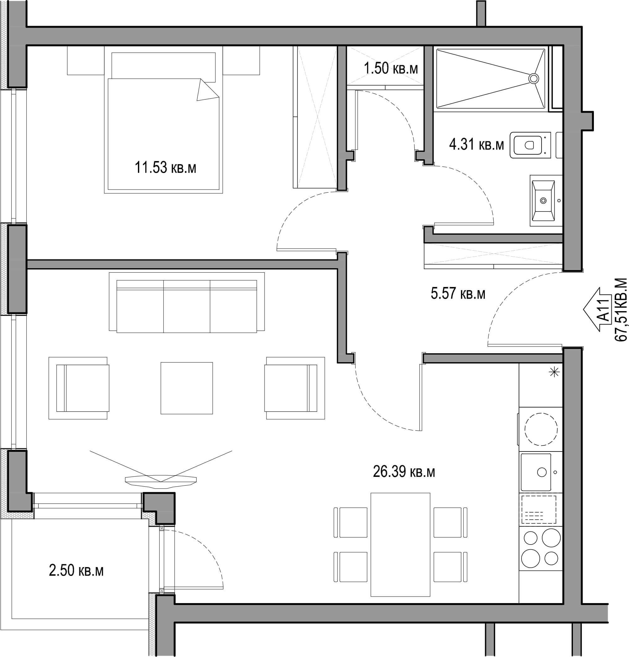 Vinitsa_Apartment_1_11
