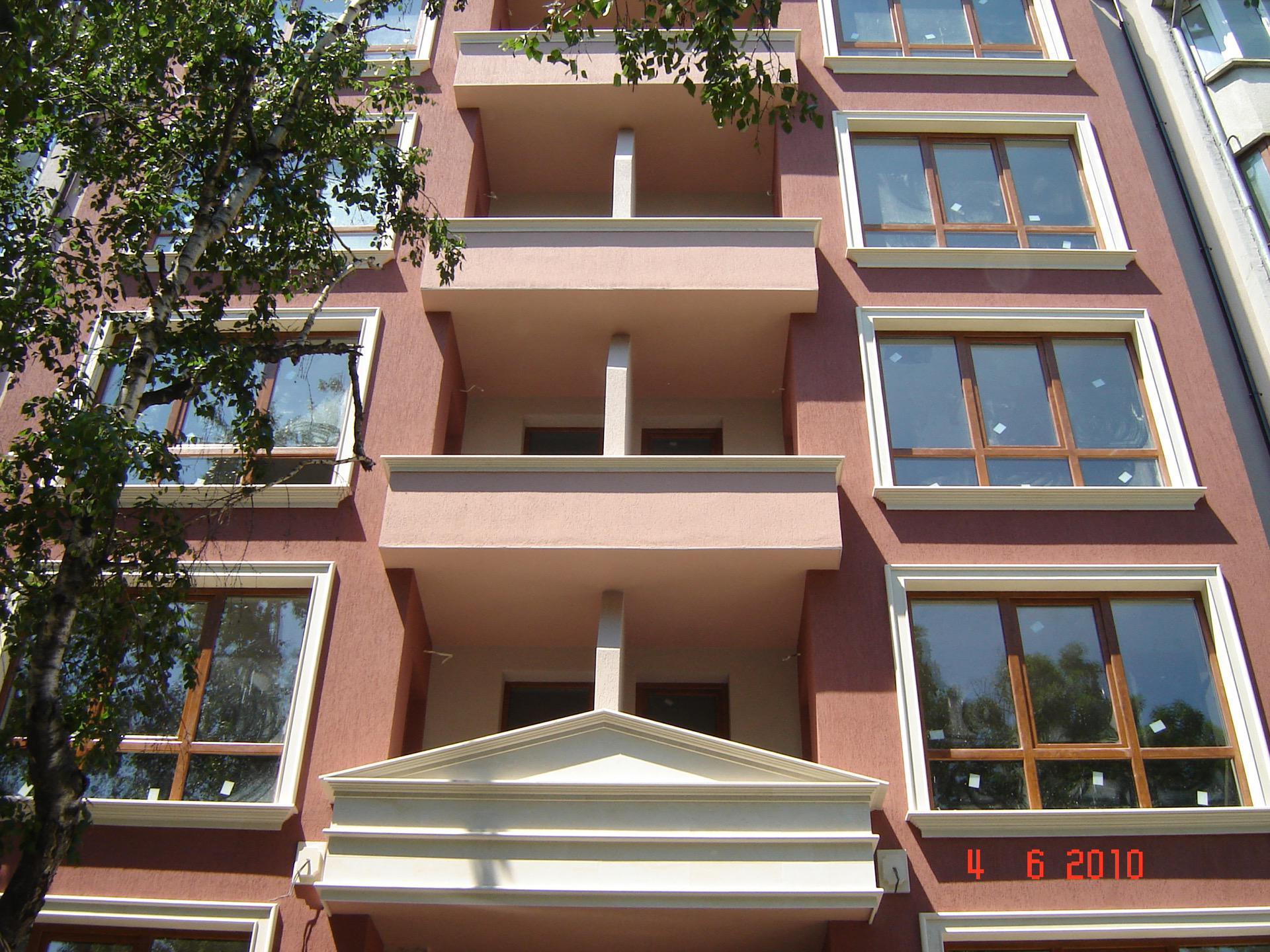 Фасада и изолация на сграда Константин Величков 15 - Акропол Билд