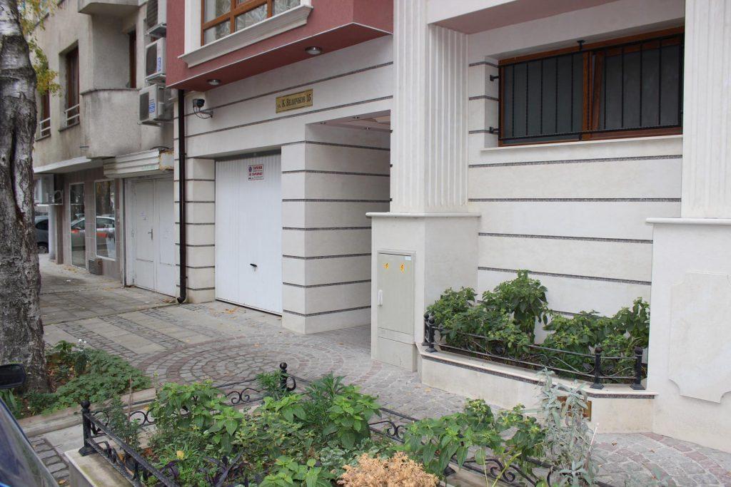Фасада от близо на сграда Константин Величков 15 - Акропол Билд