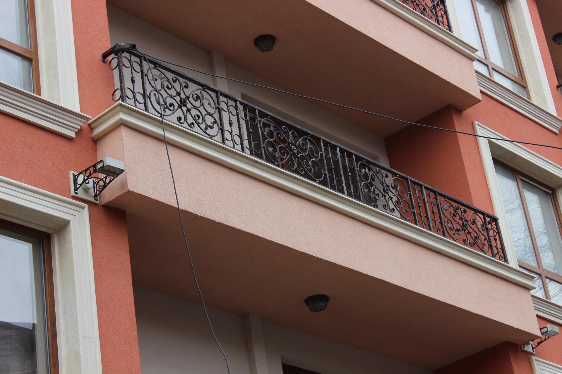 Балкон на сграда ул.